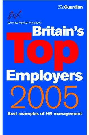 Britain's Top Employers (Corporate Research Foundation) by Corporate Research Foundation