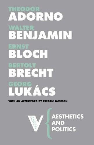 Aesthetics and Politics (Radical Thinkers) by Walter Benjamin
