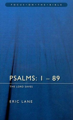 Psalms Chapters 1-89 by Eric Lane