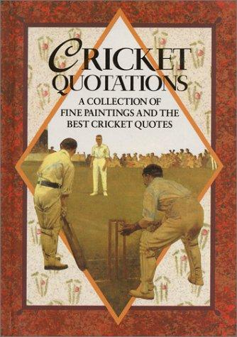 Cricket Quotations (Quotation Book) by Helen Exley