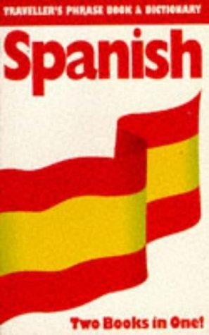 Spanish (Traveller's Phrase Book & Dictionary) by Hans Qvist