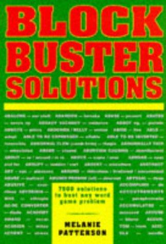 Blockbuster Solutions by Melanie Patterson