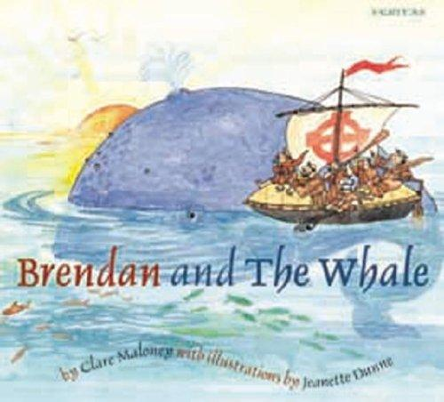 Brendan and the Whale by Clare Maloney