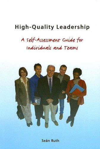 Highquality Leadership by Ruth Sean