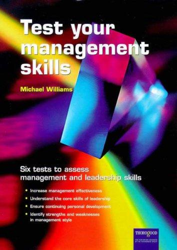 Testing Management Skills by Michael Williams