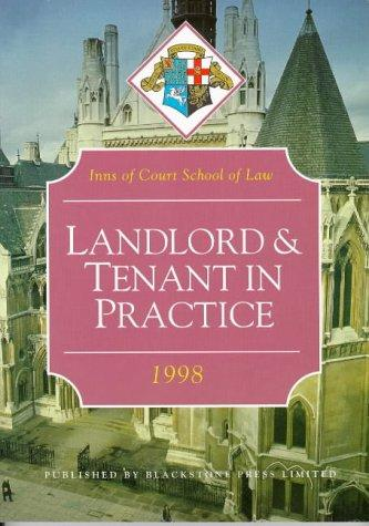 Landlord and Tenant Law in Practice (Inns of Court Bar Manuals)