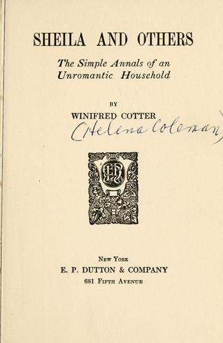 Sheila and others by Winifred Cotter