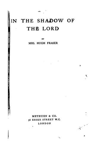 In the Shadow of the Lord by Hugh Fraser