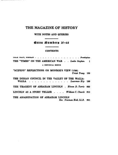 "The ""Times"" on the American War: A Historical Study by Oscar Leslie Stephen"