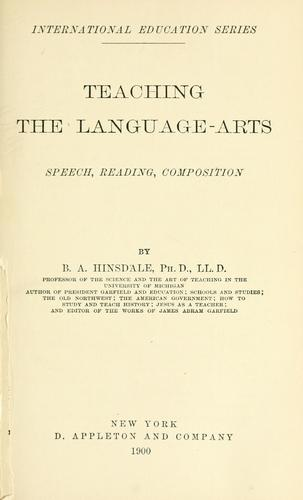 Teaching the language-arts