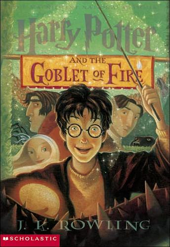 Harry Potter and the goblet of fire by