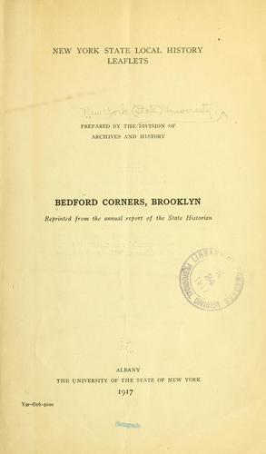 Bedford Corners, Brooklyn.