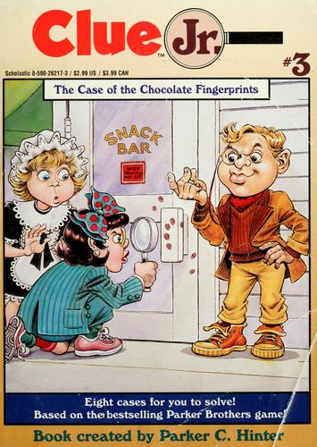 The case of the chocolate fingerprints by Della Rowland