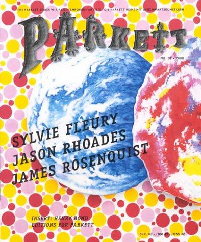 Parkett #58 by Sylvie Fleury, Jason Rhoades, James Rosenquist