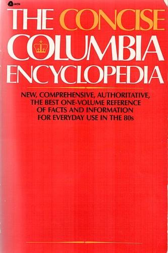 The Concise Columbia encyclopedia by Judith S. Levy