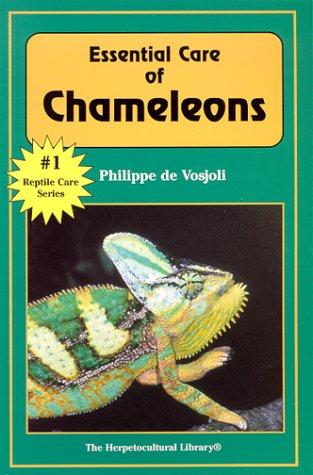 Essential care of chameleons by Philippe de Vosjoli
