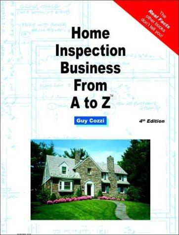 Home inspection business from A to Z