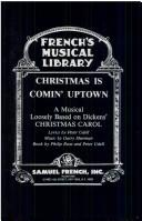 Christmas is comin' uptown by Peter Udell
