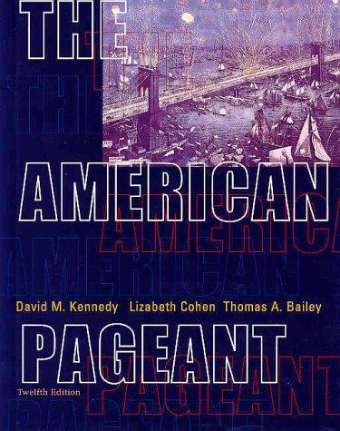 The American pageant by