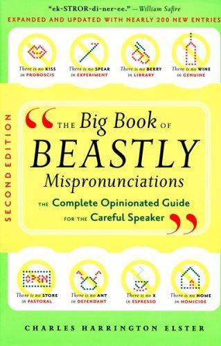 The big book of beastly mispronunciations