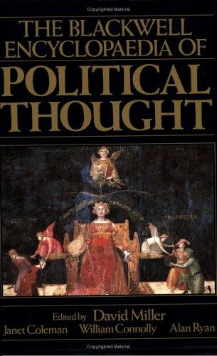 Blackwell Encyclopedia of Political Thought (Blackwell Reference) by David Miller