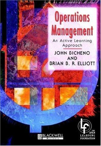 Operations management by John Bicheno