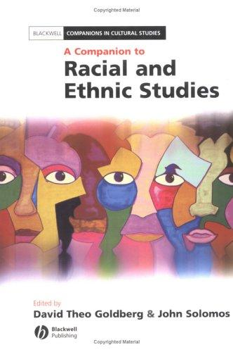 A companion to racial and ethnic studies by