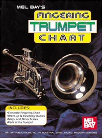 Mel Bay Trumpet Fingering Chart by William Bay