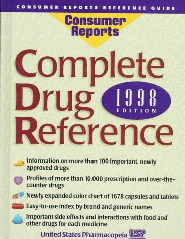 Complete Drug Reference by United States Pharmacopeia
