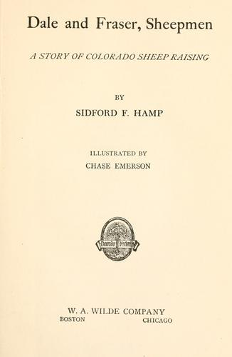 Dale and Fraser, sheepmen by Sidford Frederick Hamp