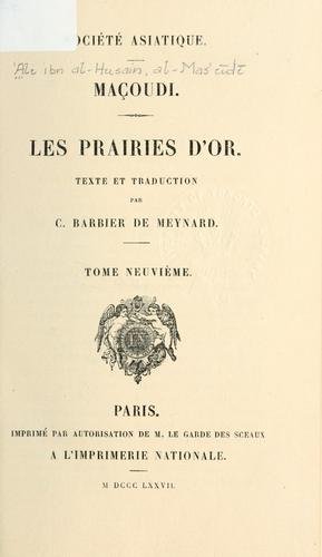Les prairies d'or by Mas℗ʻ©Æud©Æi