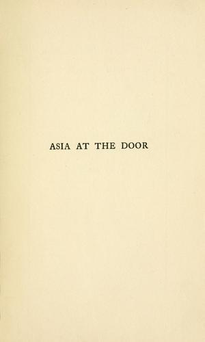 Asia at the door